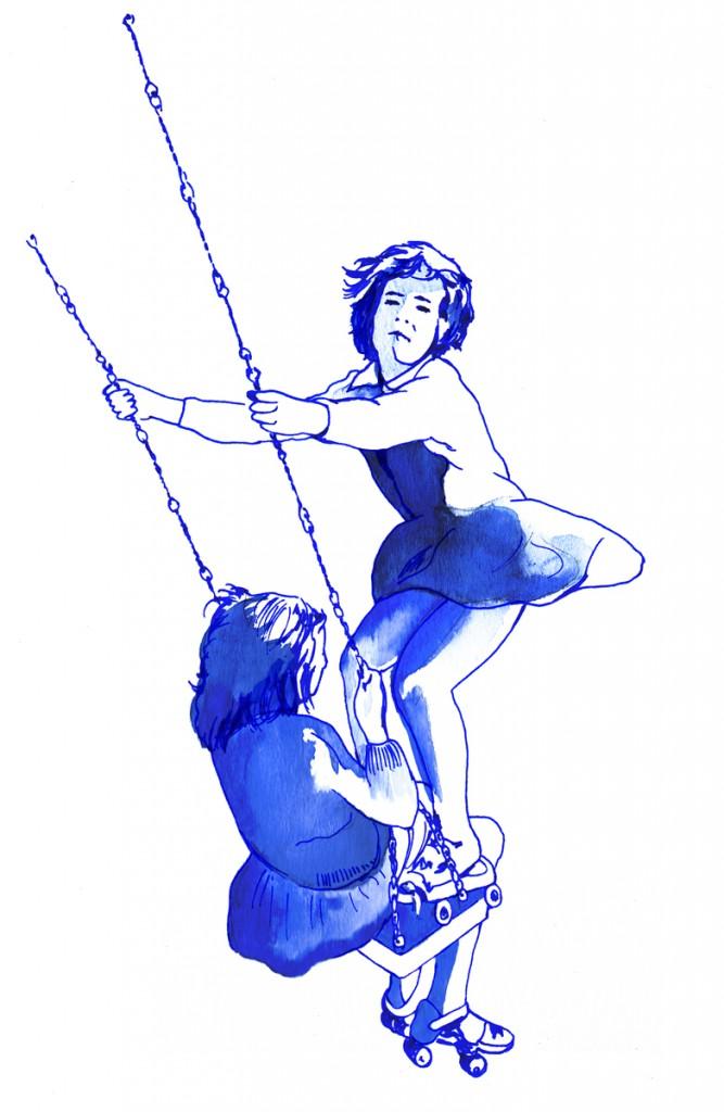 schaukel, les belles du swing